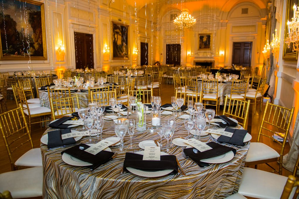 Oheka Castle New Year's Eve party room