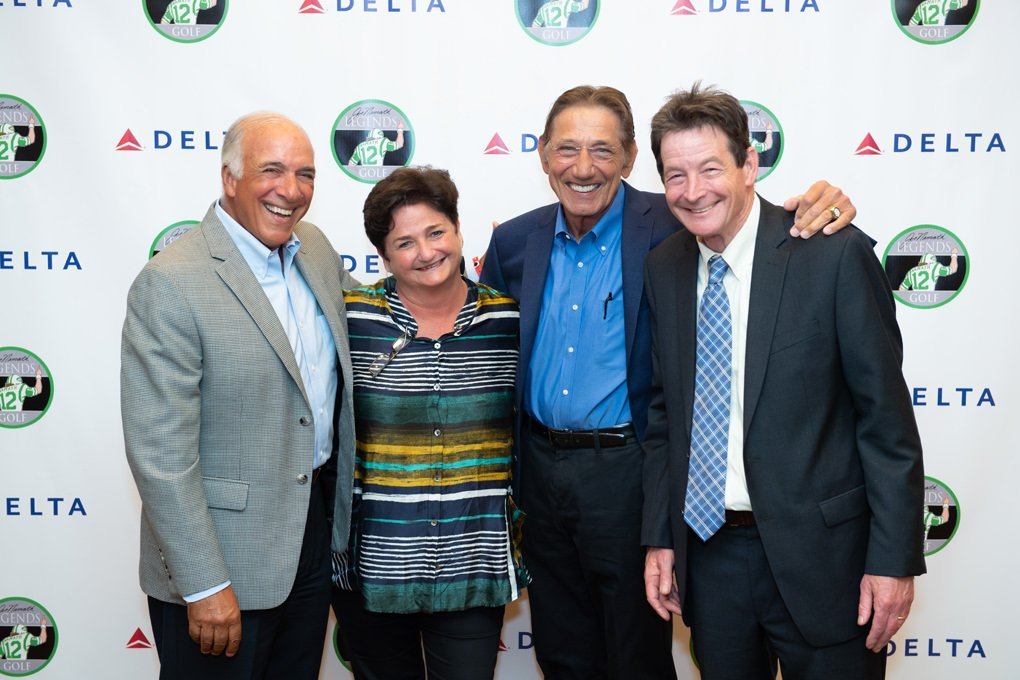 Delta airline Joe Namath is legend golf
