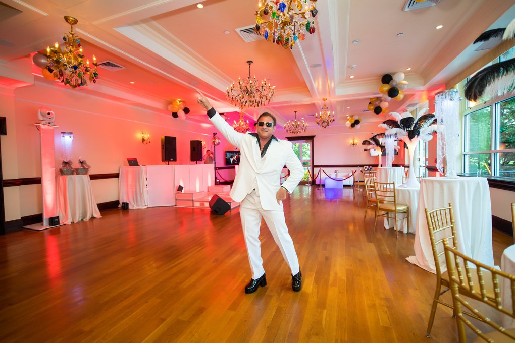 60th birthday party disco theme photo