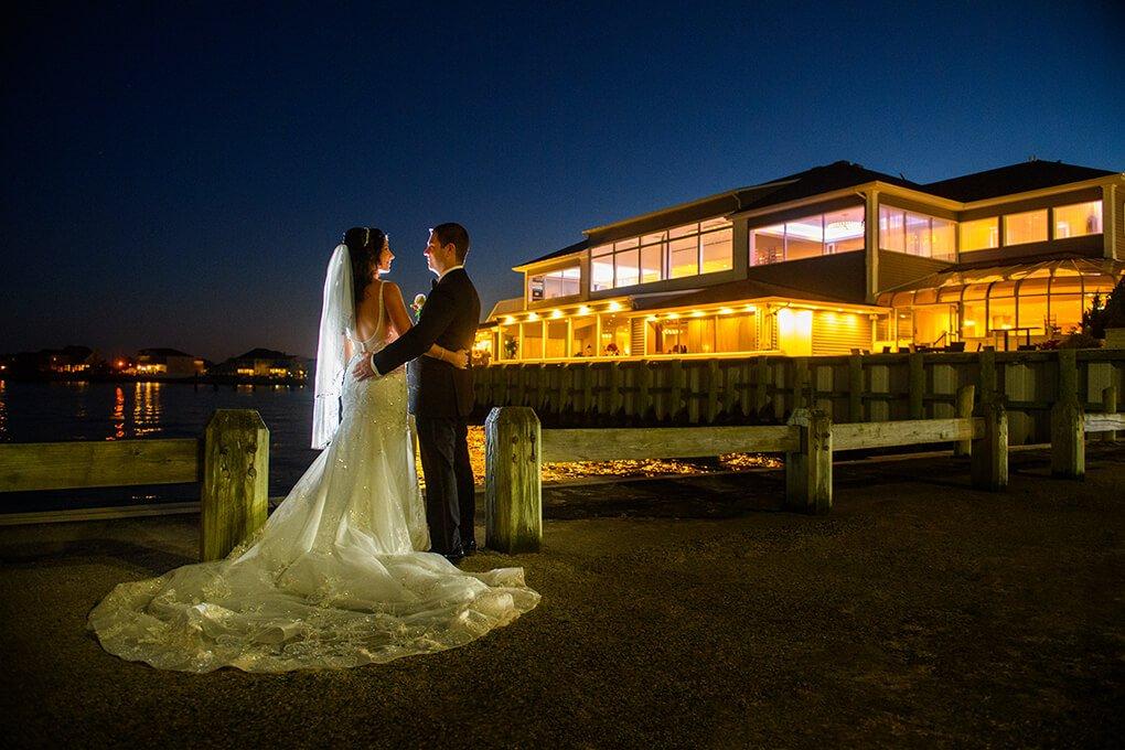 The Piermont wedding night photo