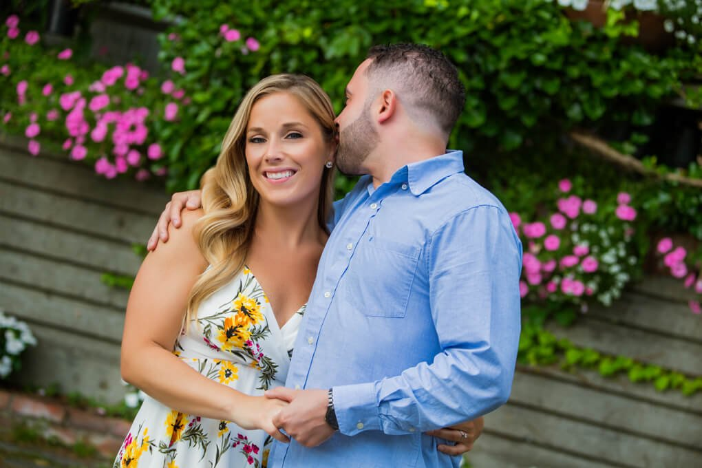 Engagement session in Dumbo