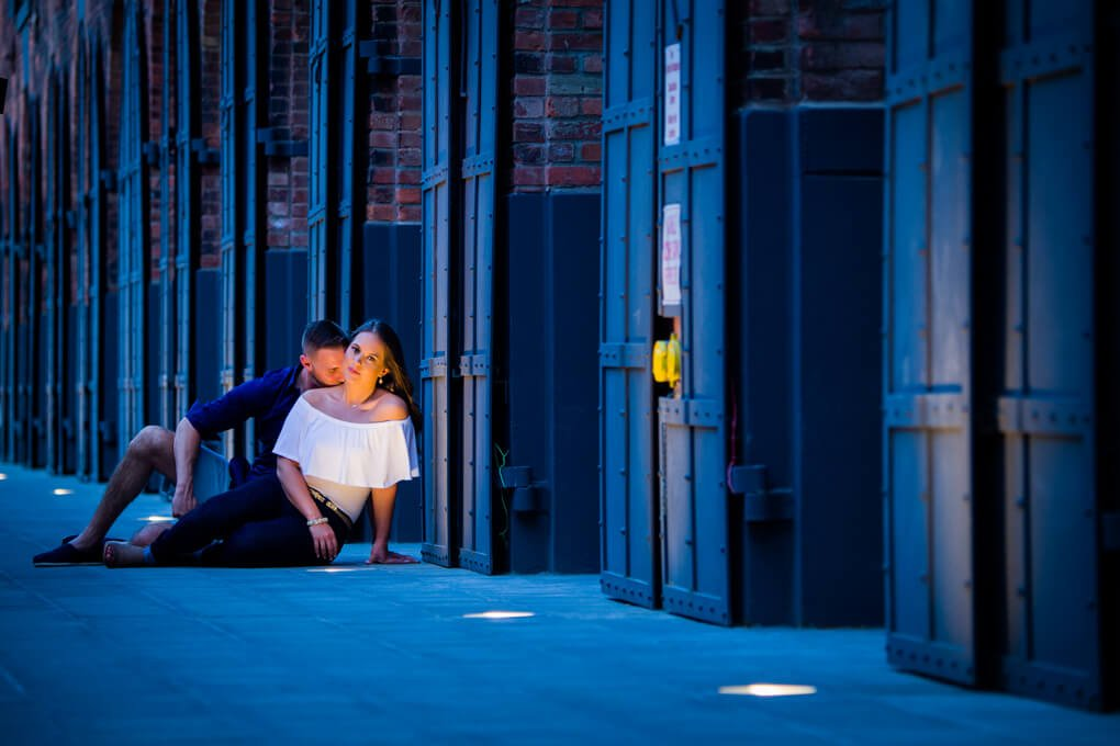 Engagement session in Brooklyn