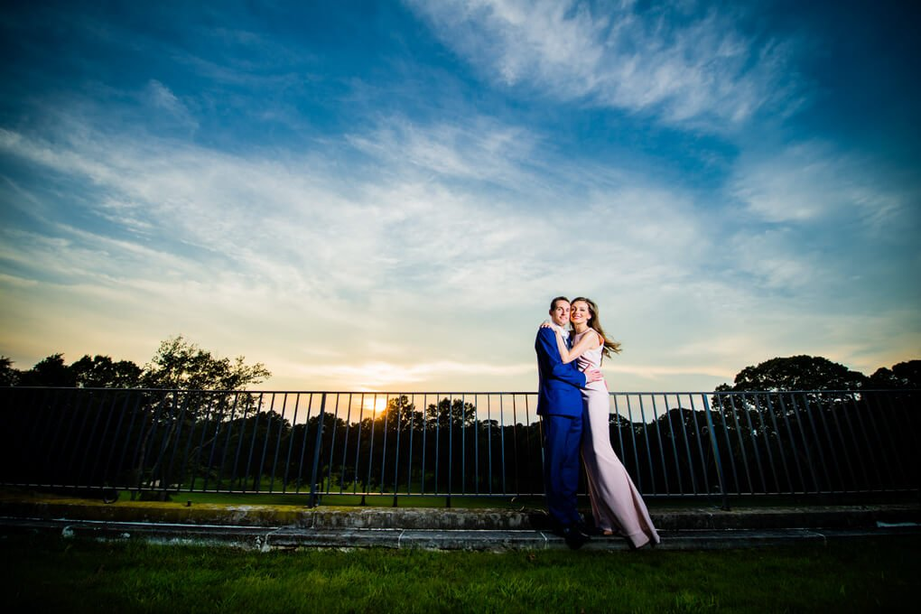 Oheka Castle engagement Photographers