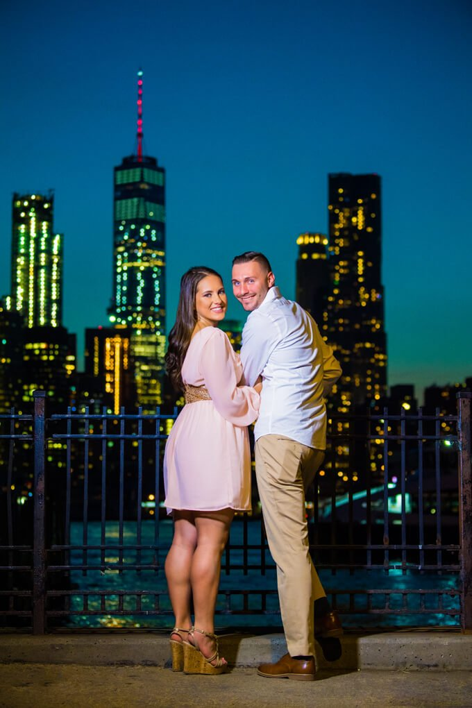 Twilight Dumbo engagement session
