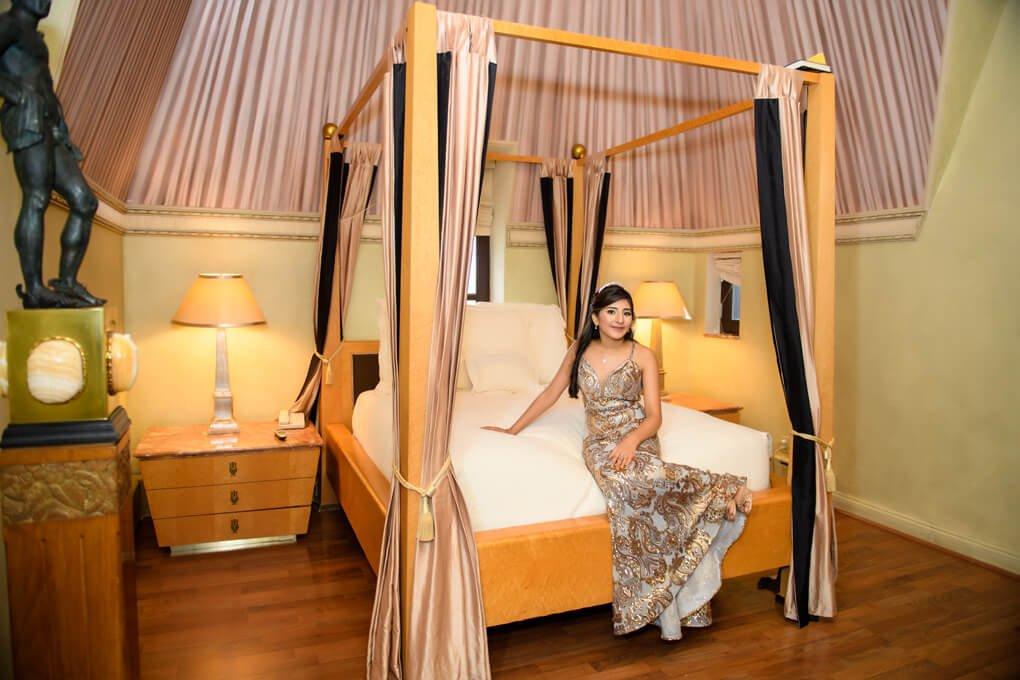 Oheka Castle bedroom