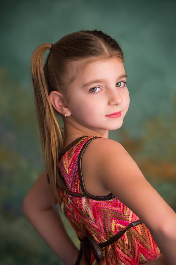 Young child portrait session