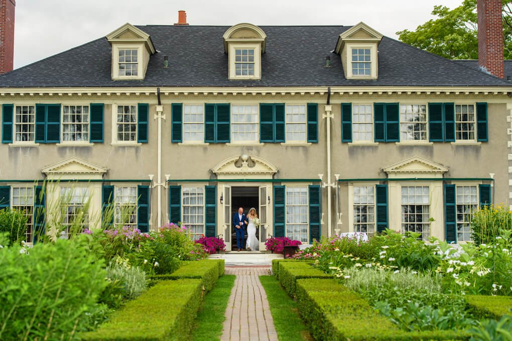 Lincoln house wedding Vermont