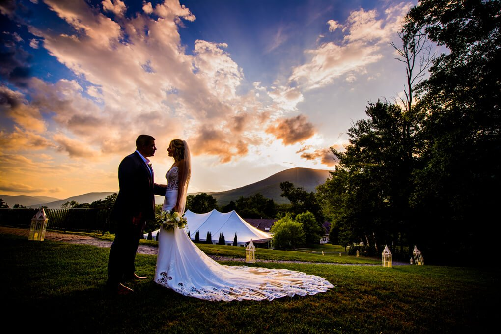 The Lincoln house Vermont wedding