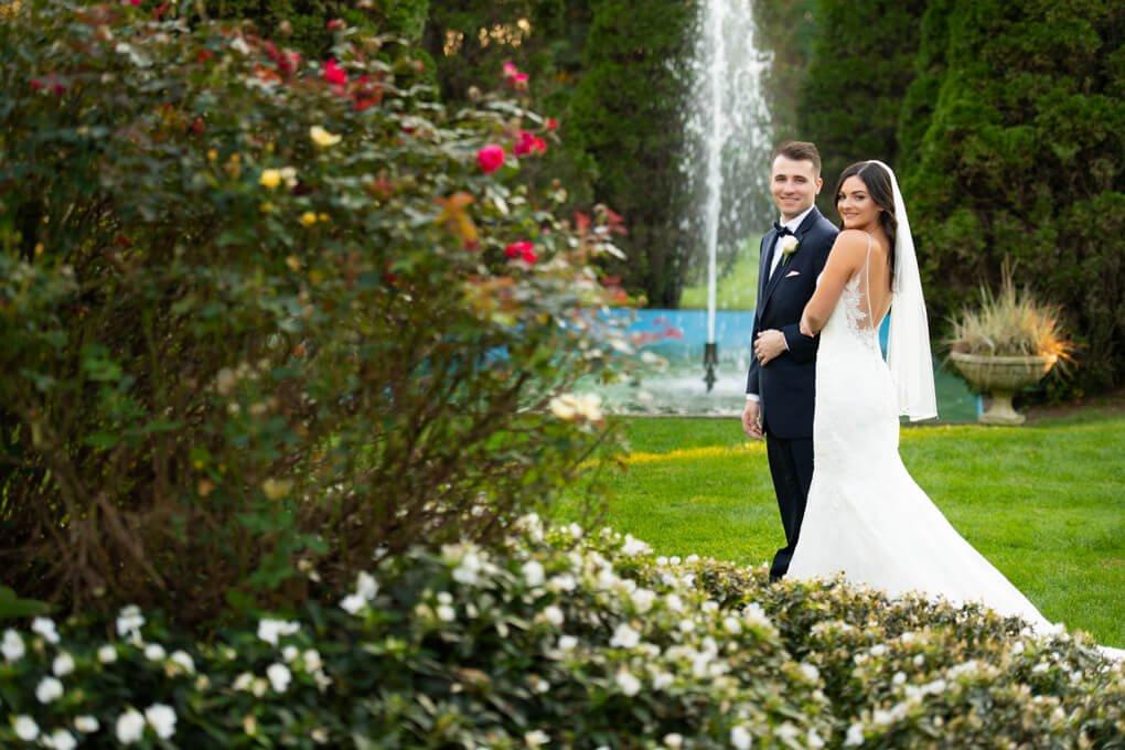 The Carltun wedding garden