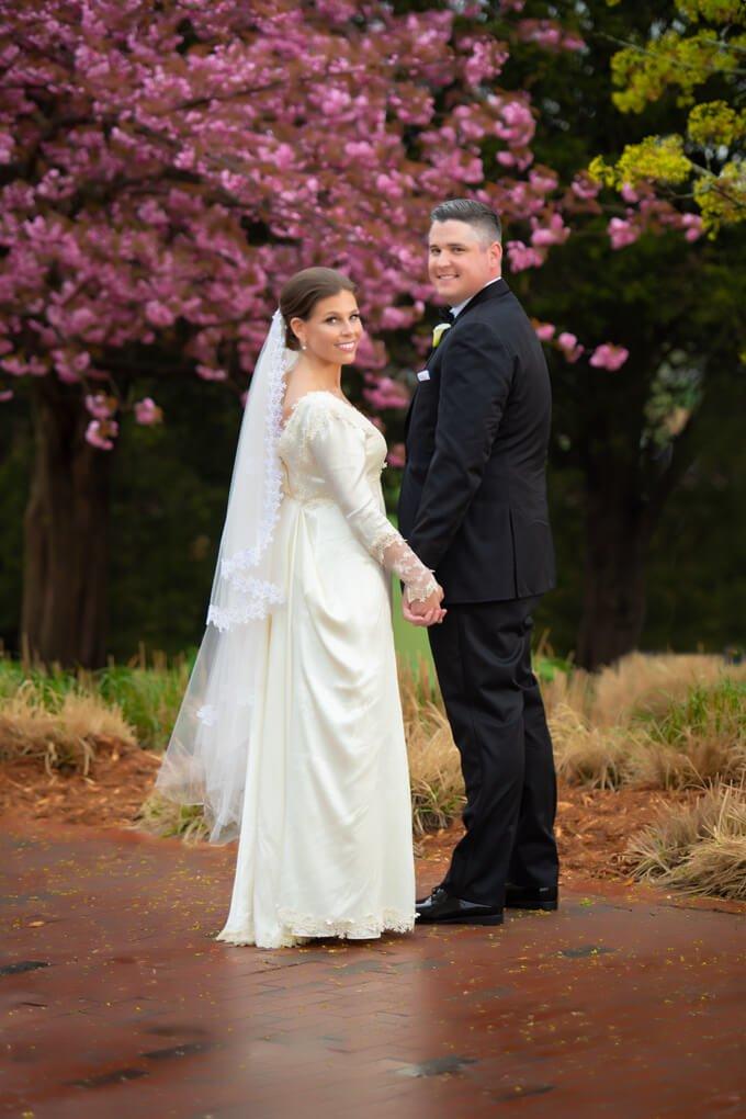 The Heritage Club Spring wedding